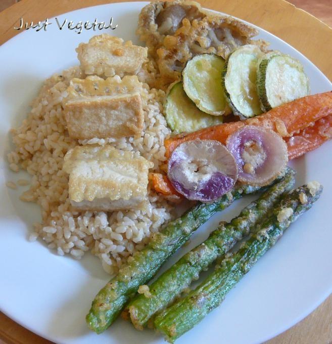 tempura plato