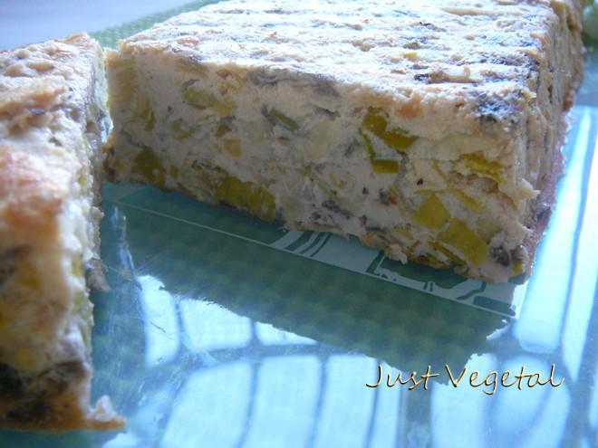 corte pastel puerro