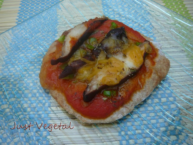 pizzeta shitake
