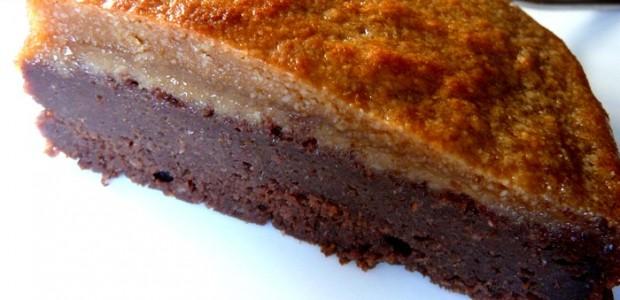 Brownie Integral de Sarraceno, Calabaza y Mazapán (Veganos y Celíacos)