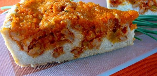 Quiche de Quinoa y Sobrasada de Calabaza (Veganos y Celíacos)